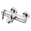 Ideal Standard CONCEPT Blue Wall Bath Shower Mixer Tap, No Shower Kit, Chrome