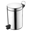 Ideal Standard IOM Pedal Waste Bin 3 Litre, Stainless Steel