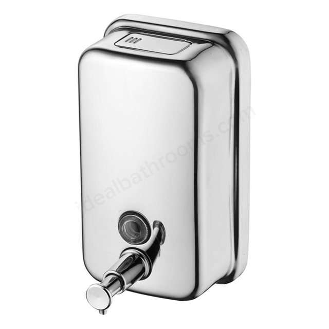 Ideal Standard IOM Wall Mounted Soap Dispenser 500ml, Stainless Steel