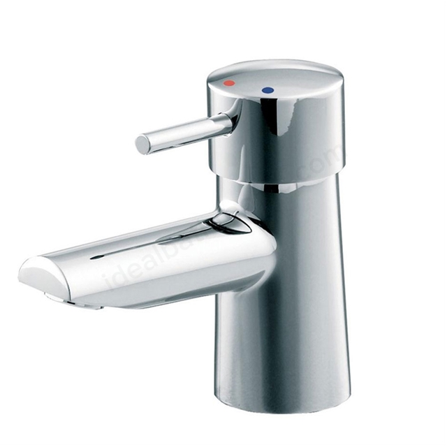 Ideal Standard CONE Basin Mixer Tap, No Waste, 1 Tap Hole, Chrome