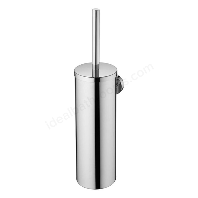 Ideal Standard IOM Wall Mounted Toilet Brush And Holder, Stainless Steel