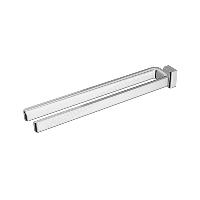 Ideal Standard SOFTMOOD 460mm Double Towel Rail; Chrome