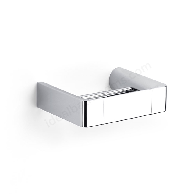 Roca SELECT Toilet Roll Holder; Polished Zamac
