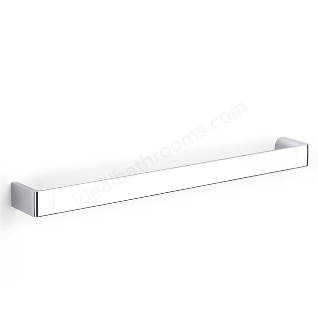 Roca SELECT Towel Rail 600mm, Polished Zamac