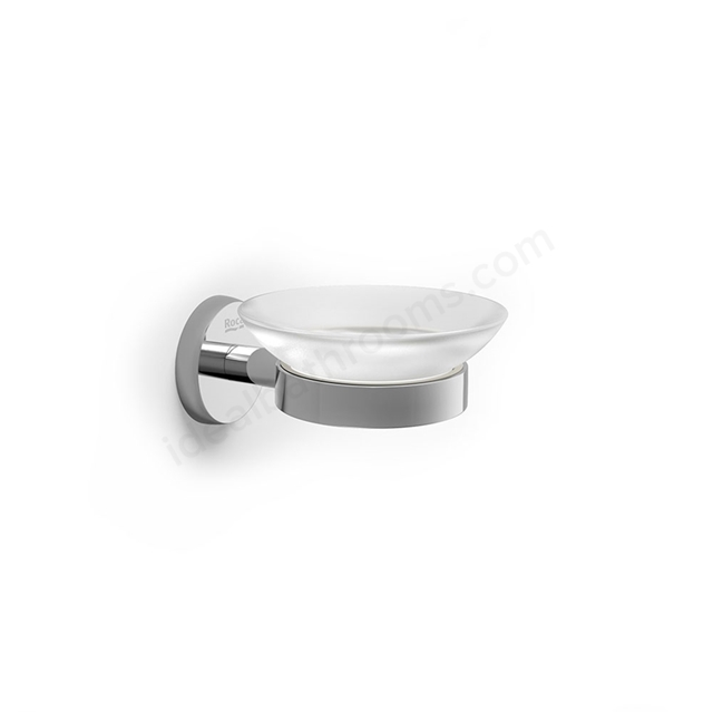 Roca TWIN Wall hung Soap Dish, Chrome