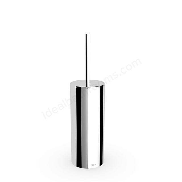 Roca VICTORIA Toilet Brush + Holder ; Chrome