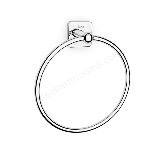 Roca VICTORIA Towel Ring ; Chrome