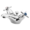 Ideal Standard ELEMENTS Basin Mixer Tap, Dual Control, with Pop Up Waste, 1 Tap Hole, Chrome