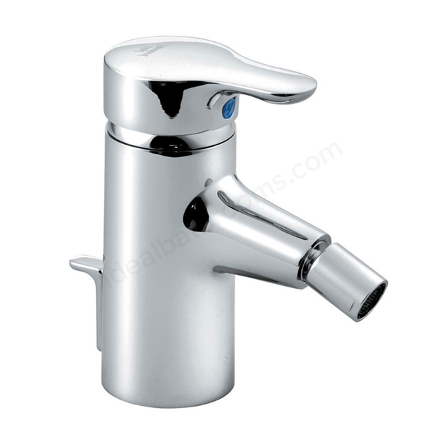 Ideal Standard JASPER MORRISON Bidet Mixer Tap, with Pop Up Waste, 1 Tap Hole, Chrome
