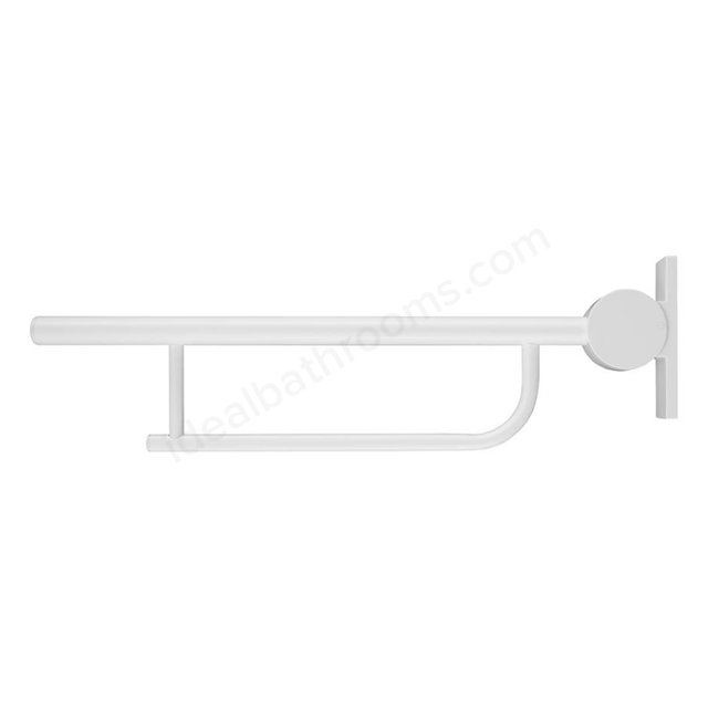 Armitage Shanks CONTOUR 21 Screw to Wall Hinged Support Arm, 800mm Long, White