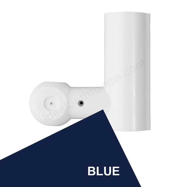 Armitage Shanks CONTOUR 21 Shower Grab Rail Handset Holder, Blue