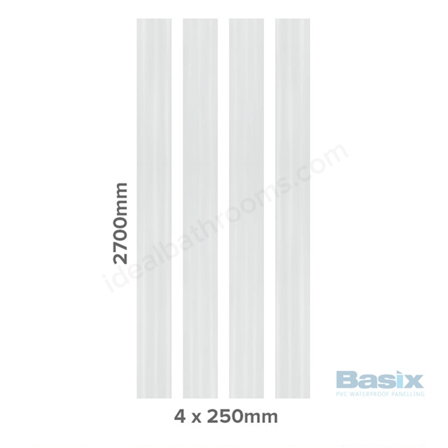 tongue and groove white. basix white ash matt wall panels, 4 x pvc panels 2700x250mm, tongue \u0026 groove and white t