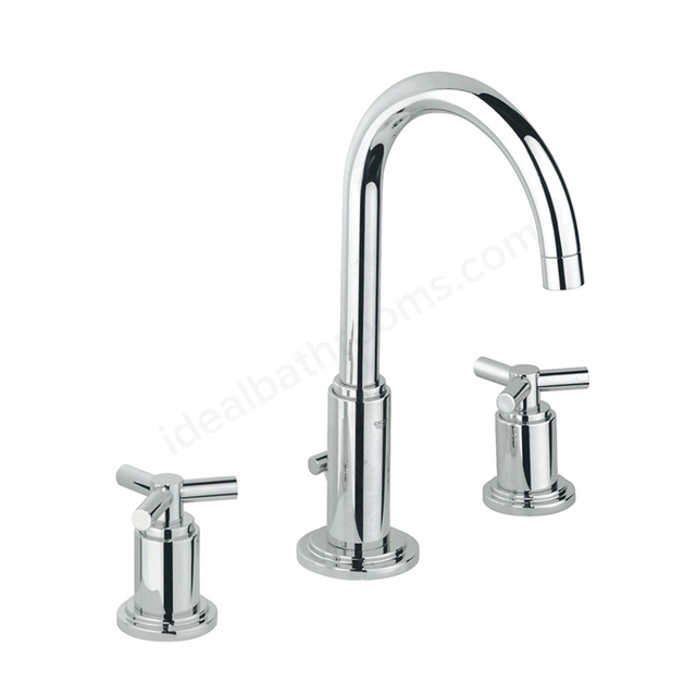 Grohe Atrio Ypsilon 3 Hole Basin Mixer High Spout