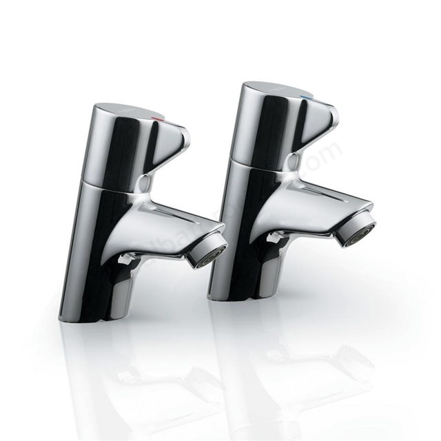 Armitage Shanks PICCOLO 21 Basin Pillar Taps