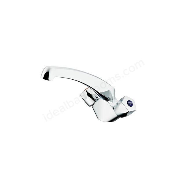 Armitage Shanks SANDRINGHAM 21 Sink Mixer Tap, 1 Tap Hole, Chrome
