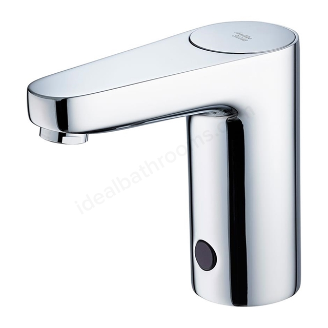 Armitage Shanks SENSORFLOW WAVE Basin Spout Rim Mounted, Battery Powered, Chrome