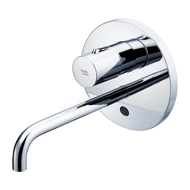 Armitage Shanks SENSORFLOW WAVE Thermostatic Basin Mixer Wall Mounted 150mm Spout with Temperature Control