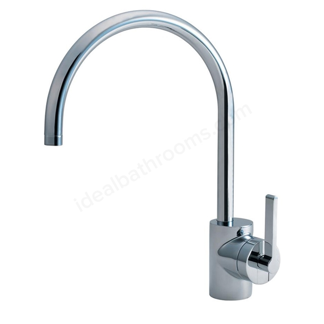 Ideal Standard SILVER Kitchen Mixer Tap, 1 Tap Hole, Chrome