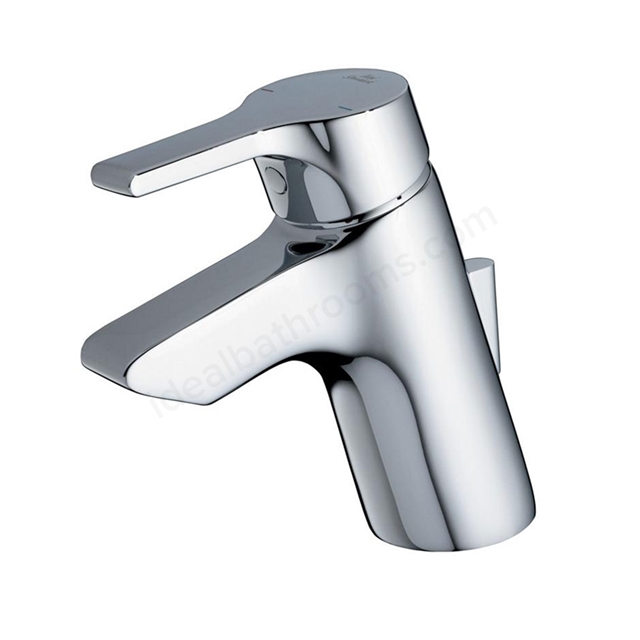 Ideal Standard ACTIVE Basin Mixer Tap; with Pop Up Waste; 1 Tap Hole; Chrome