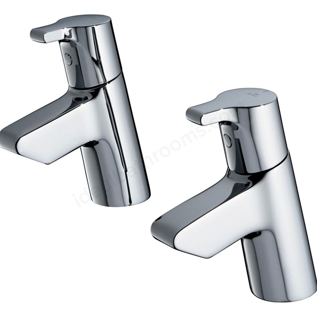 Ideal Standard ACTIVE Basin Taps (Pair), Chrome