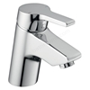 Ideal Standard ACTIVE Blue Basin Mixer Tap, No Waste, 1 Tap Hole, Chrome