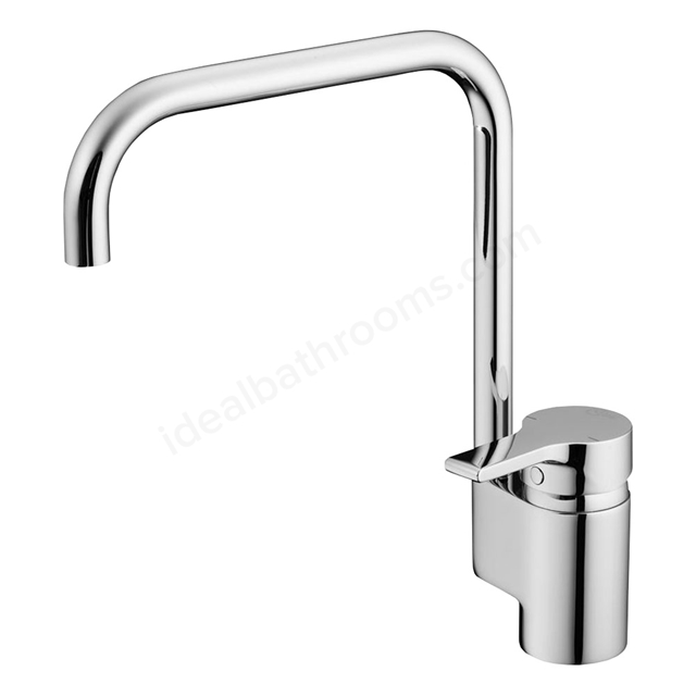 Ideal Standard ACTIVE Kitchen Mixer, 1 Tap Hole, Chrome