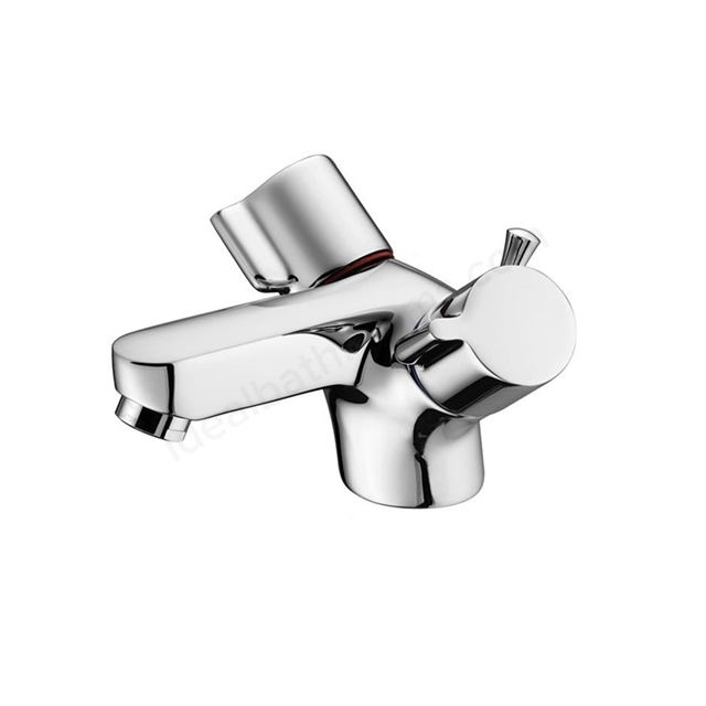 Ideal Standard ALTO Basin Mixer Tap, Dual Control, with Pop Up Waste, 1 Tap Hole, Chrome