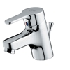 Ideal Standard ALTO Basin Mixer Tap; with Pop Up Waste; 1 Tap Hole; Chrome