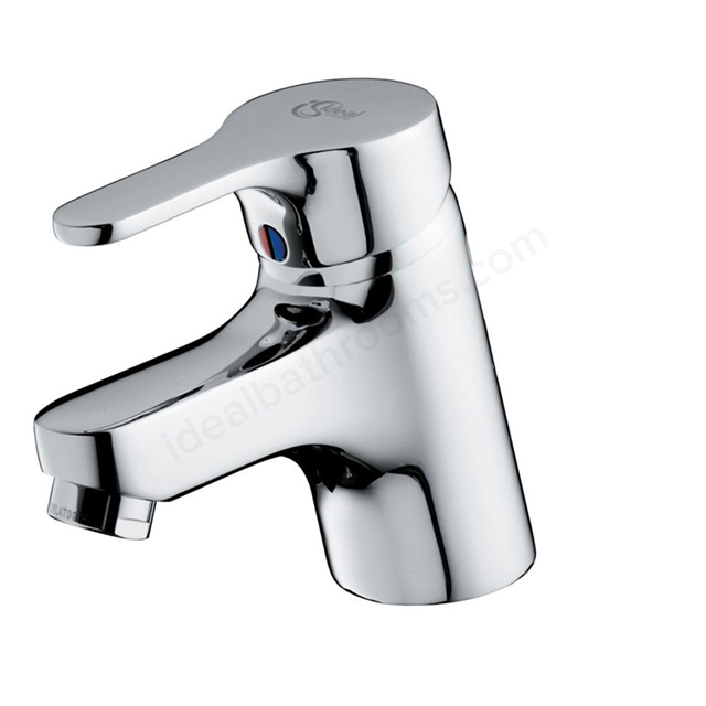 Ideal Standard ALTO Basin Mixer Tap, No Waste, 1 Tap Hole, Chrome