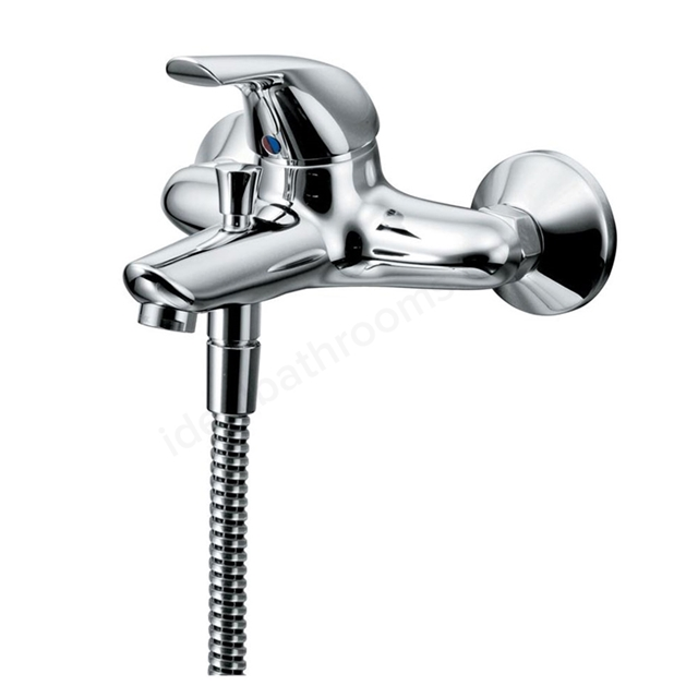Ideal Standard CERAPLAN Bath Shower Mixer Exposed Wall Mounted Single Lever, Chrome