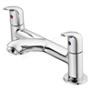 Ideal Standard OPUS Bath Filler Tap, 2 Tap Hole, Chrome