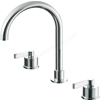 Ideal Standard SILVER Basin Mixer Tap; with Pop Up Waste; 3 Tap Hole; Chrome