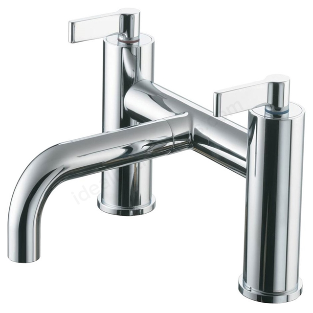 Ideal Standard SILVER Bath Filler Tap, 2 Tap Hole, Chrome